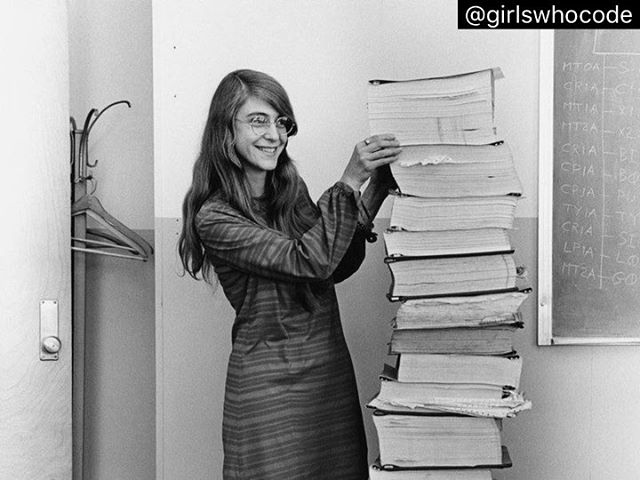 Great piece from #WSJ and #girlswhocode 50 years ago today, #Apollo11 lifted off for it's journey to the moon but this couldn't have happened without Margaret Hamilton! She led a team and helped write the computer code for the command and lunar modules, named Columbia and Eagle, respectively. She concentrated on the software that would detect system errors and recover information in a computer crash that allowed for one giant step for mankind! #girlpower . . . . . . . . . . . #data #datadriven #bigdata #datascience #bigdataanalytics #CMOs #tech #techworld #coding #analytics #artificialintelligence #machinelearning #marketingstrategy #marketing #consulting #digitalmarketing #consulting #internships #georgetown #gwuniversity #graphic #art #alxcommunity #luxury #retail #furniture #datasciencedc