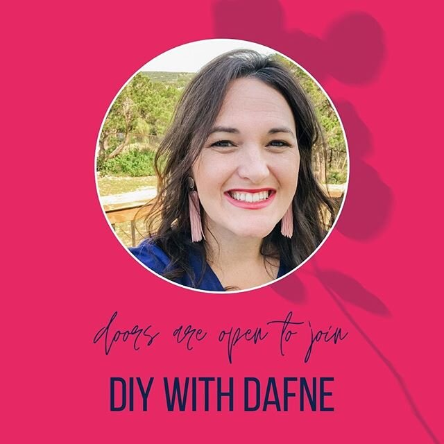 Doors are open to DIY with Dafne! When you join, we'll get started right away on transforming your house into a beautiful home that absolutely vibrates with love and light.  Even if: ✘ You don't have a lot of time ✘ You aren't an interior designer ✘ You don't have a lot of experience ✘ You're on a tight budget ✘ You don't even know where to start  I believe that when you truly love your home, you have a stronger base for you and your family to conquer any challenges or adversity that comes your way. ? A clean, organized home is fundamental to a happier you! ? ⭐ A happy home isn't a luxury; it's a necessity. ⭐ ? When you join DIY with Dafne, I will come running to your rescue each month with: ✔ Video walkthroughs on topics ranging from decluttering and organization to painting, staining, and furniture rehab so you don't have to waste any more of your precious time searching on YouTube or picking through Pinterest. ✔ Monthly themed