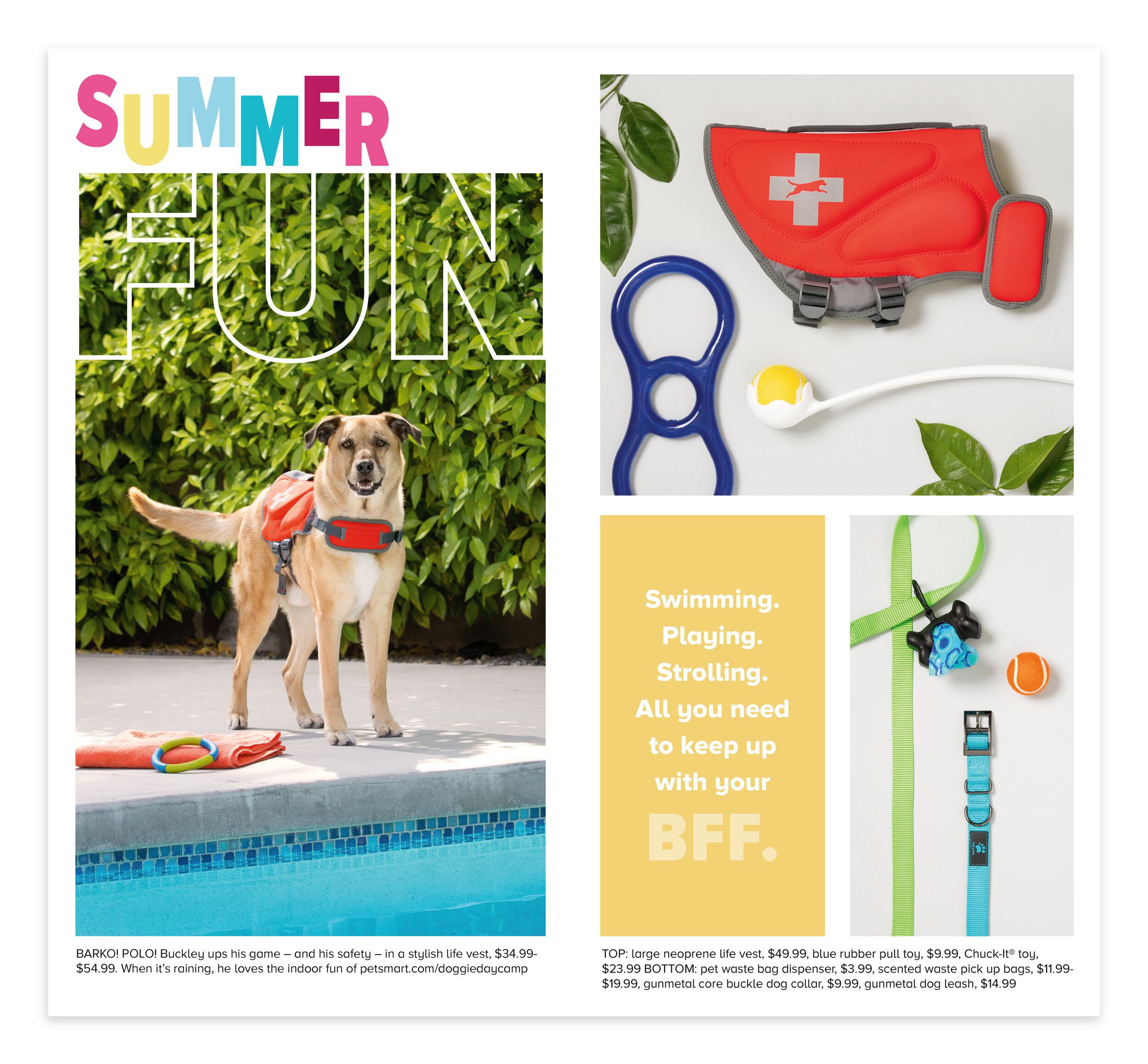 Petsmart Summer Lookbook Sela Foster