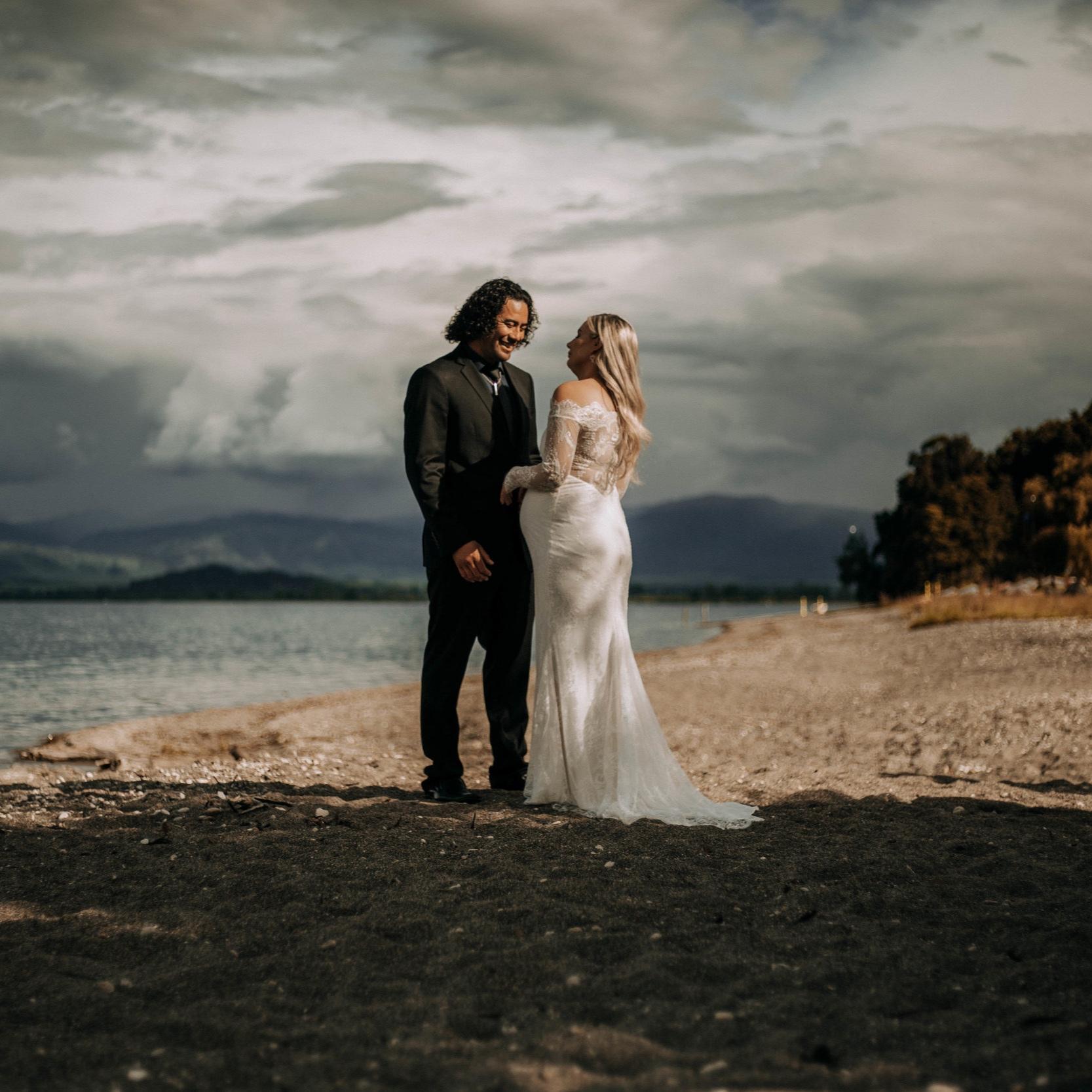 Lake Taupo intimate Wedding -