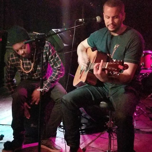 One of our clients @eleventhward performing at the Delancey #music #nyc