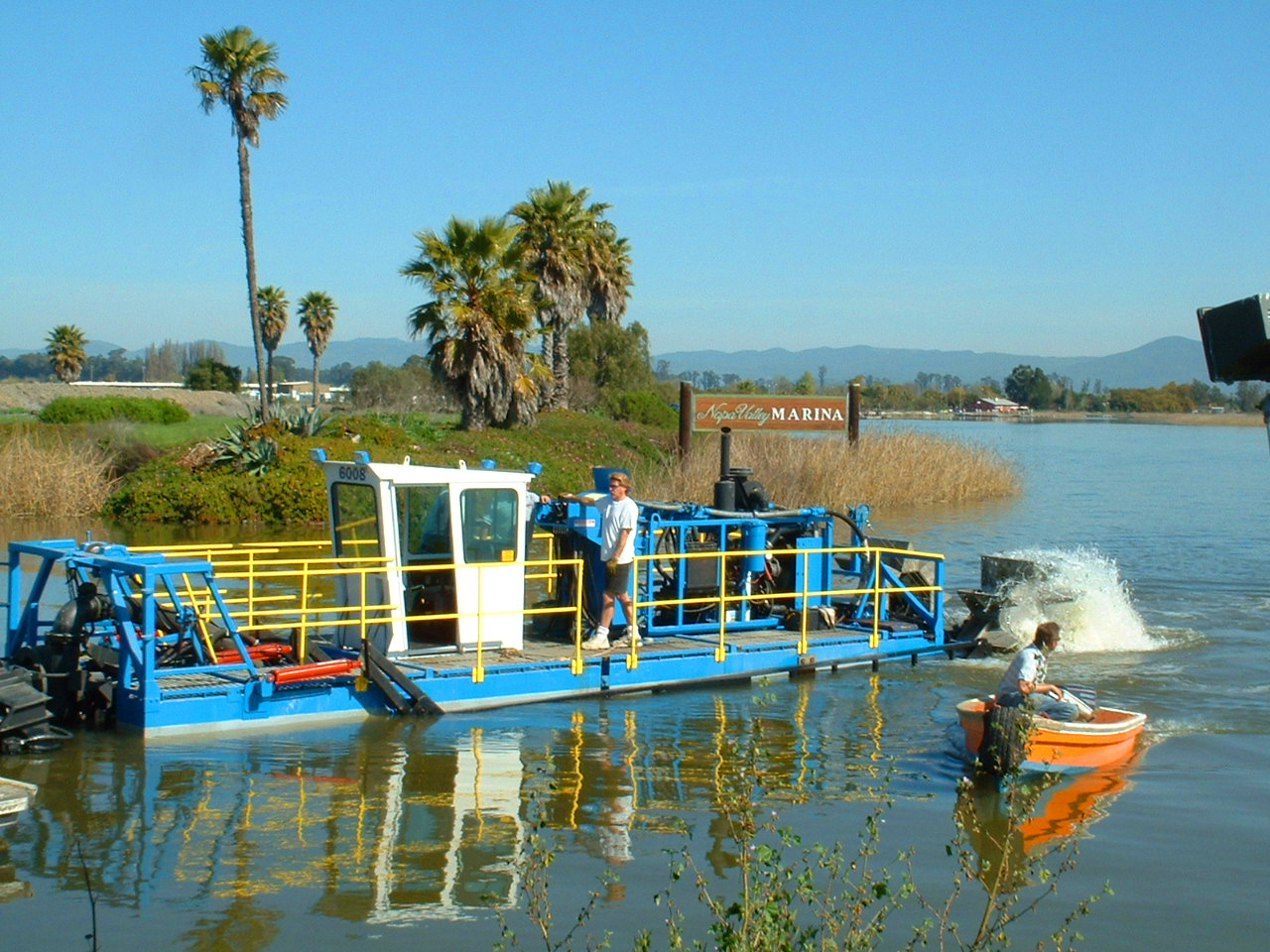 Our own self-propelled dredge