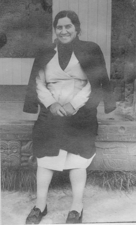 Lucy Rongoheikume Reid, Taupo, Museum, New Zealand, wharenui