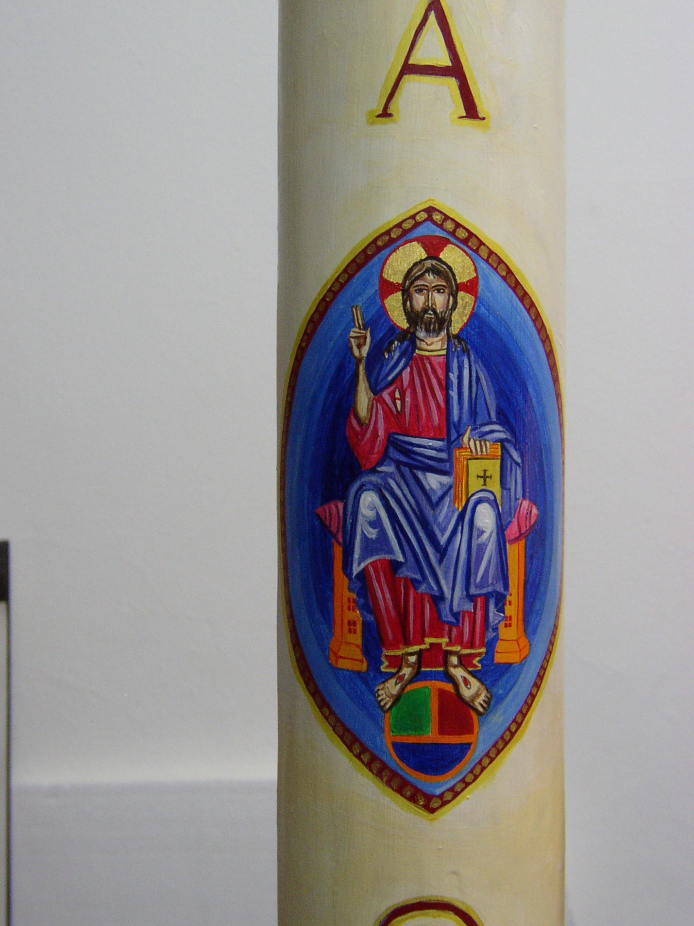 Paschal Candle. Saint Paul's Cathedral, London 2011.