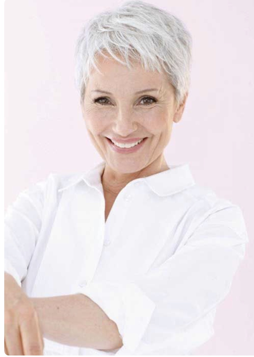 woman facial treatment