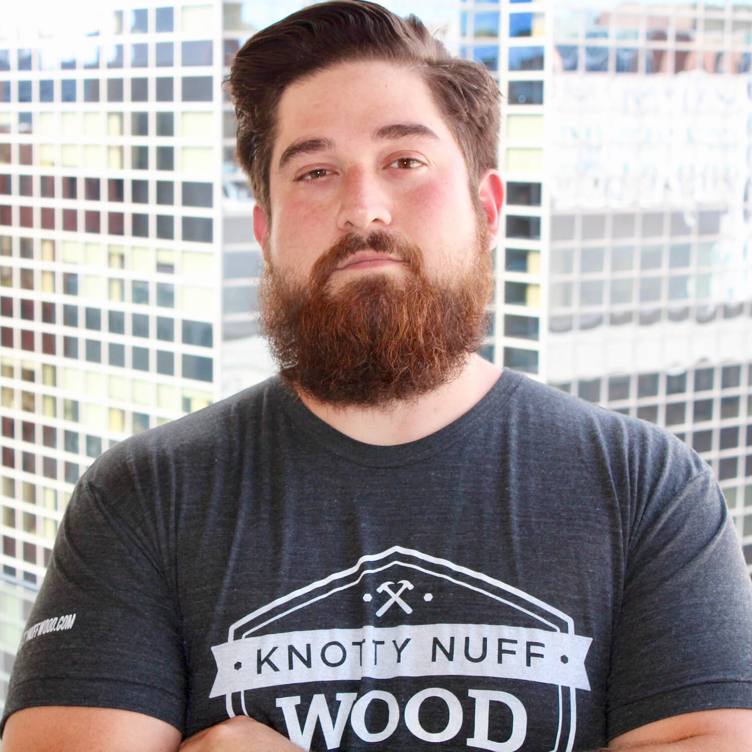 Ryan Aguirre - President of Knotty Nuff Wood