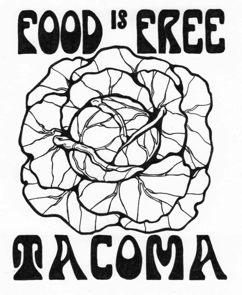 Food is Free Tacoma    Sarah Gray - Web Design & Marketing