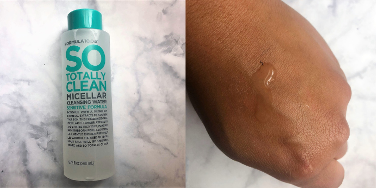 The Formula 10.0.6 So Totally Clean Micellar Cleansing Water