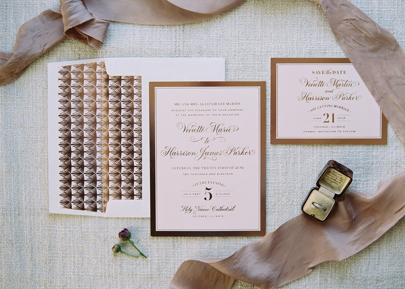 3 Reasons to Invest in Wedding Stationery — Foiled and Pressed