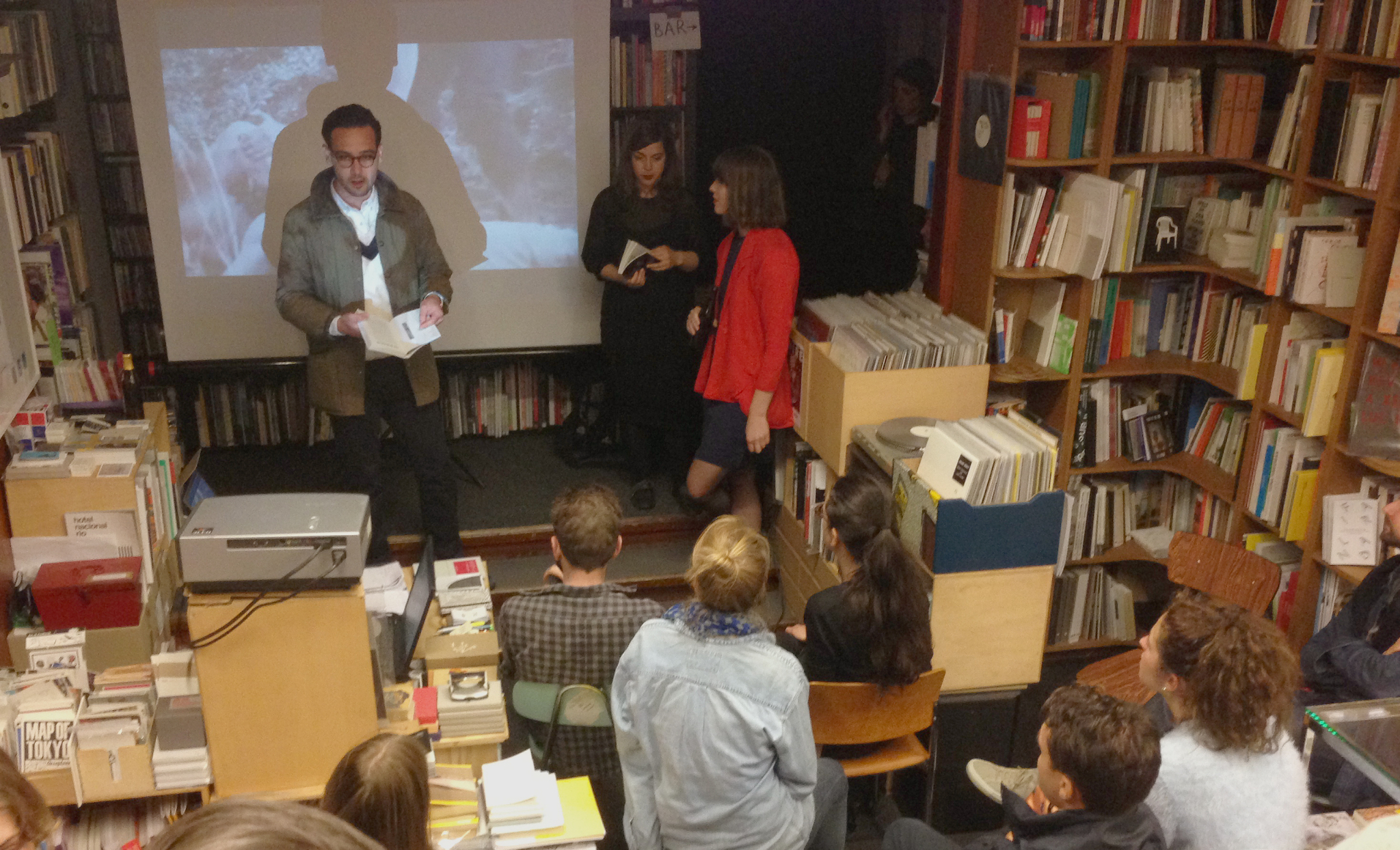 2014: E.R.O.S. Journal launch at Motto Books, Berlin