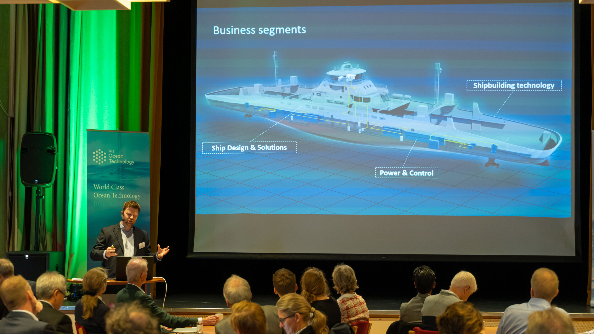 Havyard presenting their innovative FreeCO2AST project