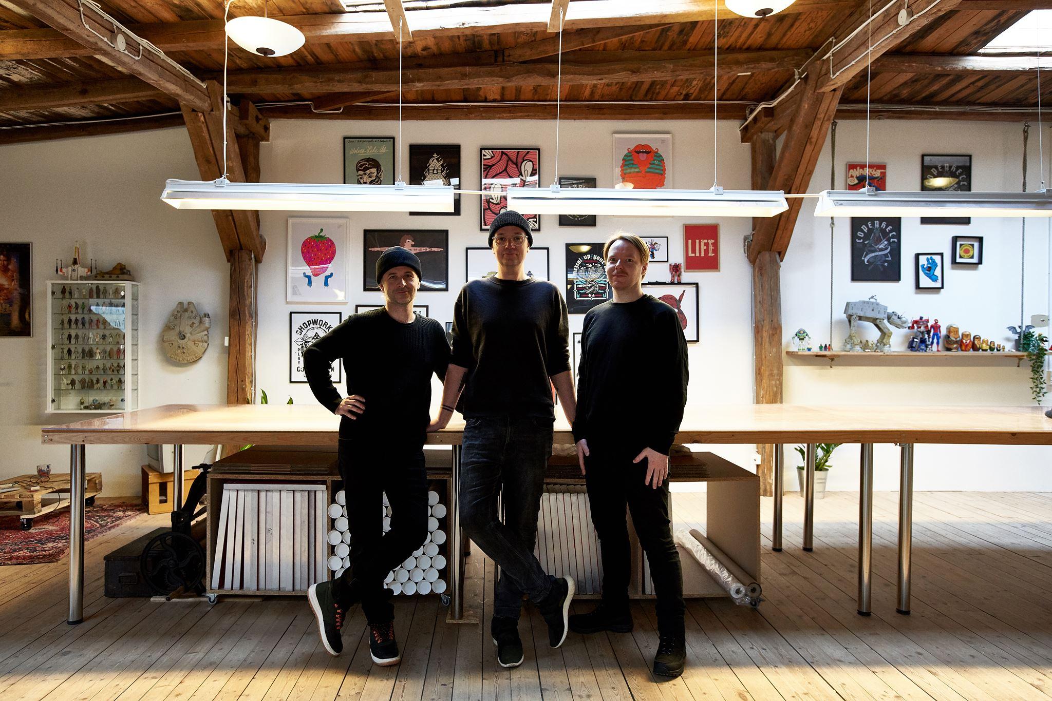 Me and my studio partners