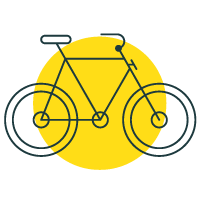 Bicycle - Trails marked with this icon can be travelled by bicycle.View all cycle trails