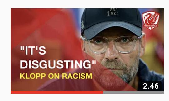 Jürgen Klopp on racism