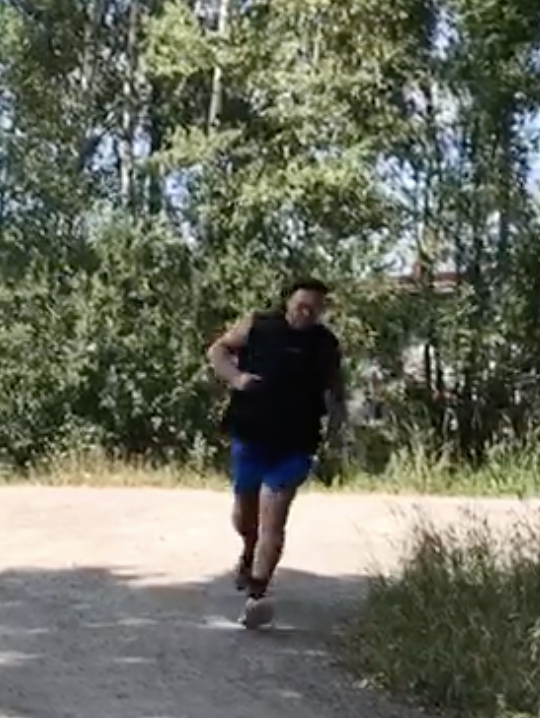 The most amazing thing, i started to run again!