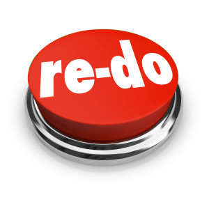 Re-Do Red Button Redo Change Revision Improvement