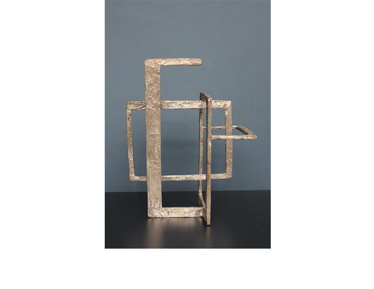 Bloc bronze, série Architecture