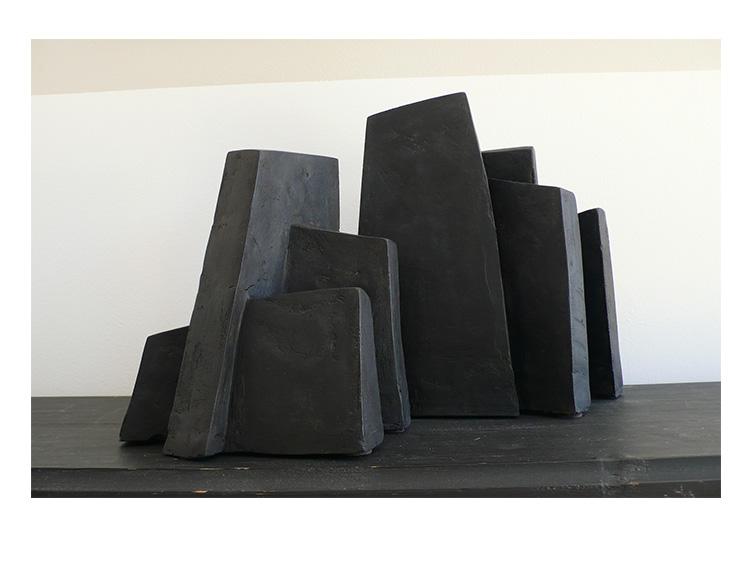 Fragment Noir, série Bloc - recto