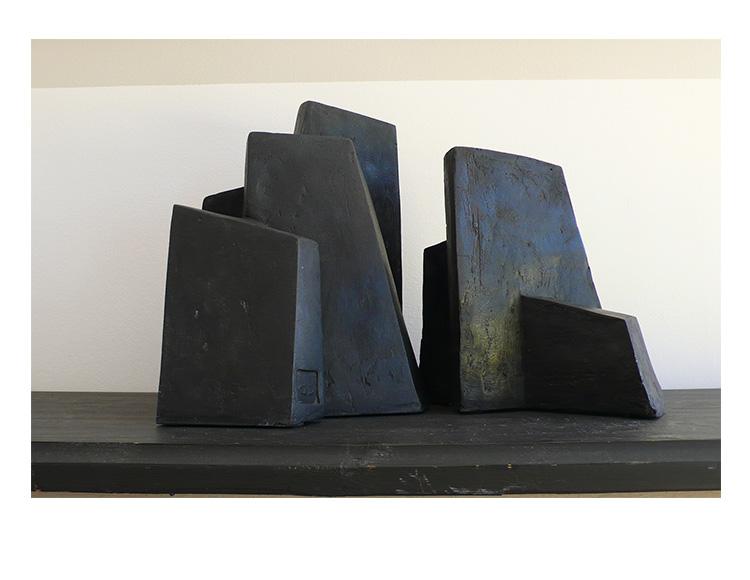 Fragment Noir, série Bloc - verso