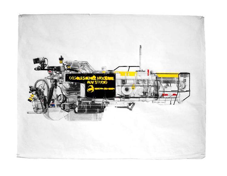 Johnson Sea Link, techniques mixtes sur papier, 64x40 cm.jpg