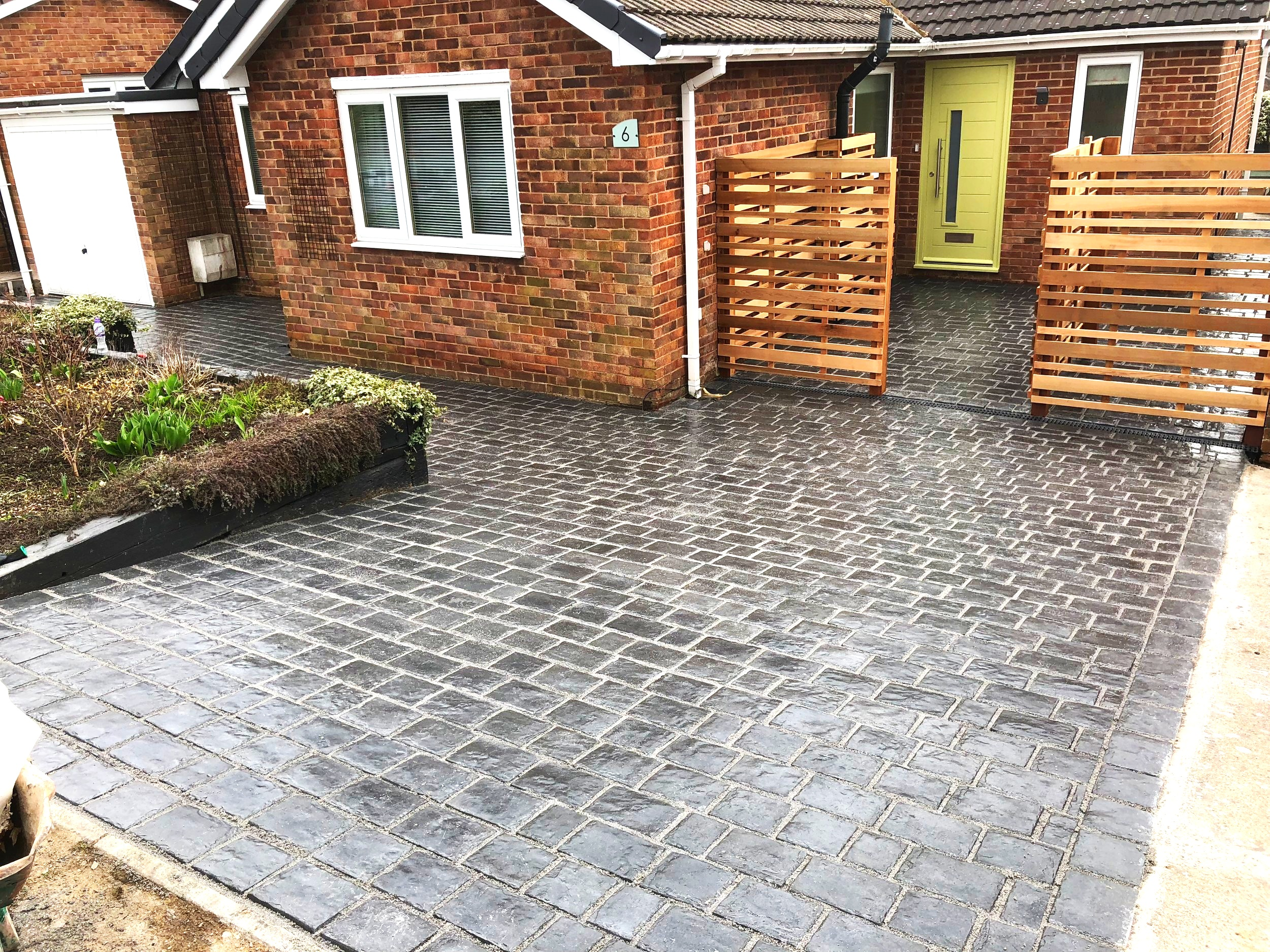 Driveways - We have been specialists in block paving for over 15 years, designing and delivering creative driveways to suit all house types. Whether it's a sleek, uniformed design or unique patterns you'd prefer, with our design service included within the price, you can be sure to get premium quality for a very attractive price.