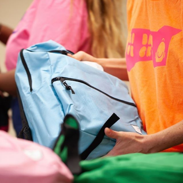 Together, volunteers and partners came together and donated hundreds of backpacks filled with essential school supplies to one of Cincinnati's most underserved area. Thank you, thank you, thank you!!!!! @landorcincy @cincychildrens @via_alliance