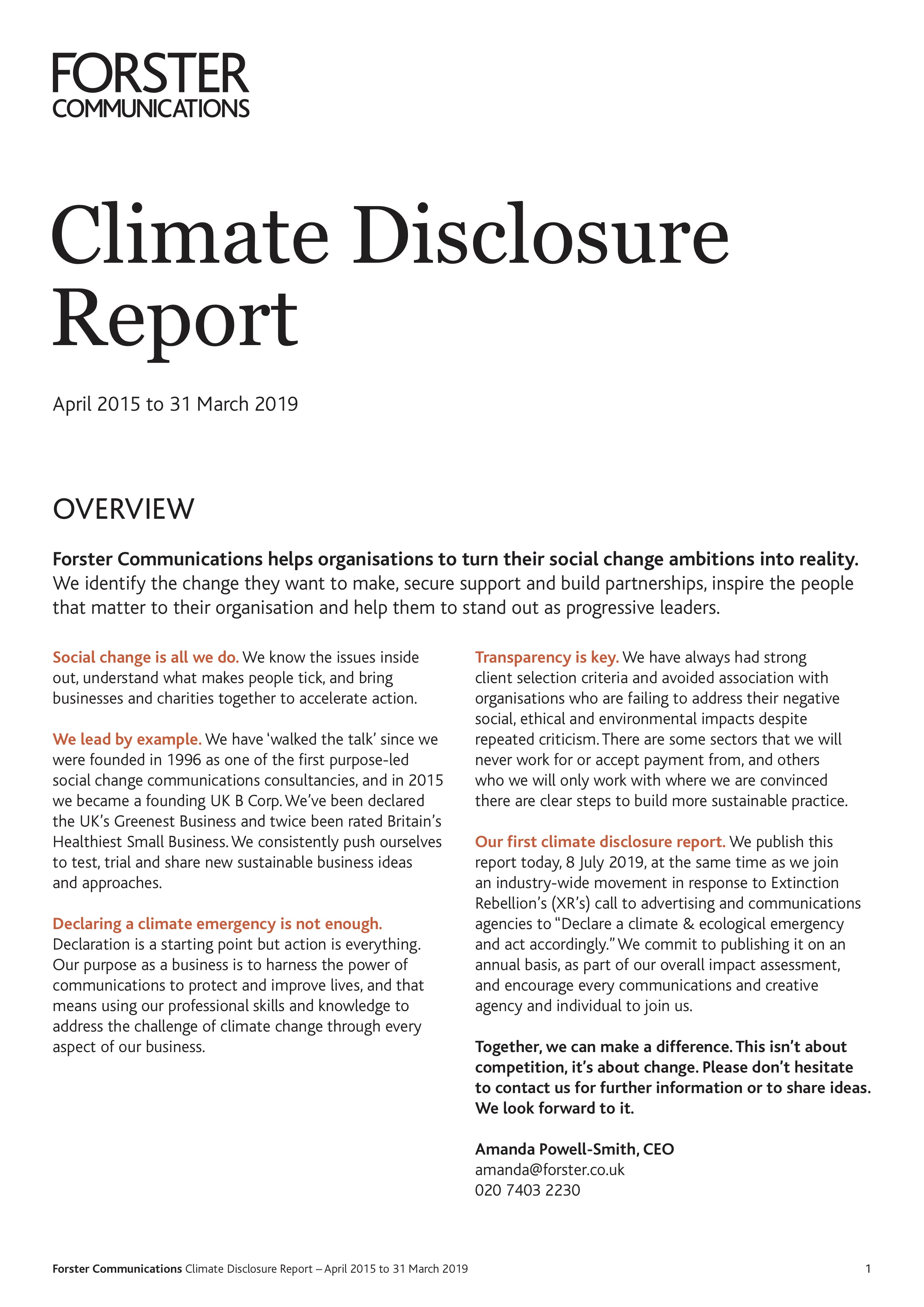 Forster Climate Disclosure Report-April 2015 to 31 March 2019.jpg