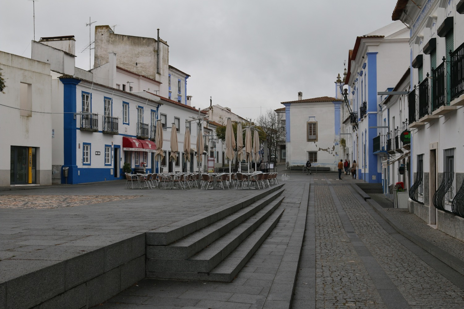 Town Square in Arraiolos