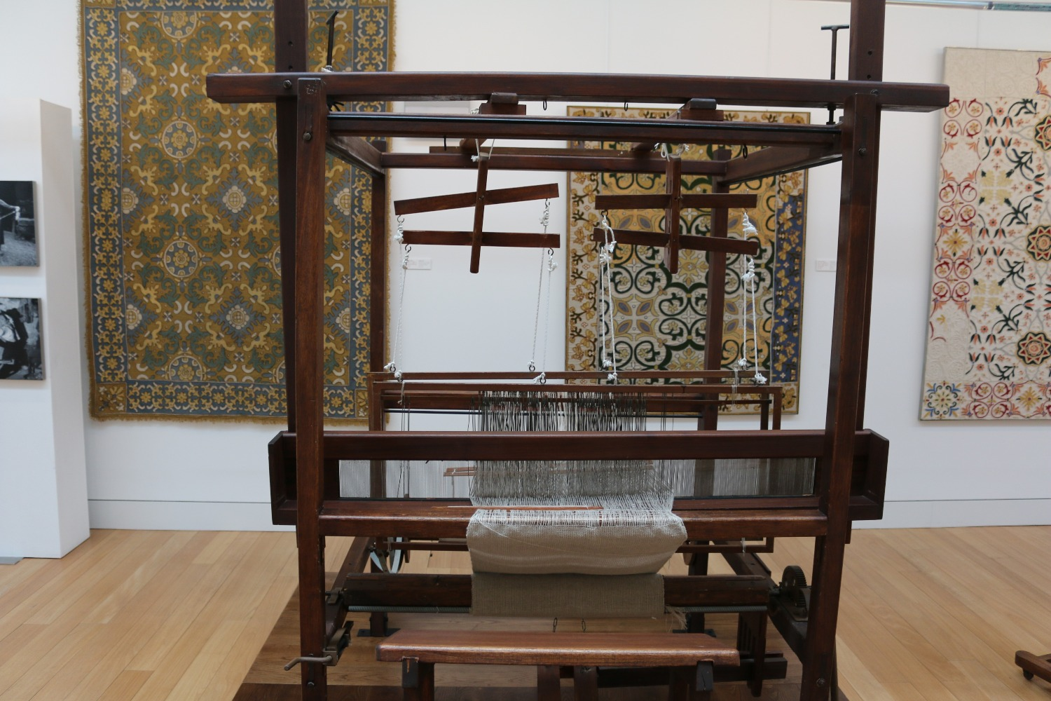 Traditional Loom in the Carpet Museum