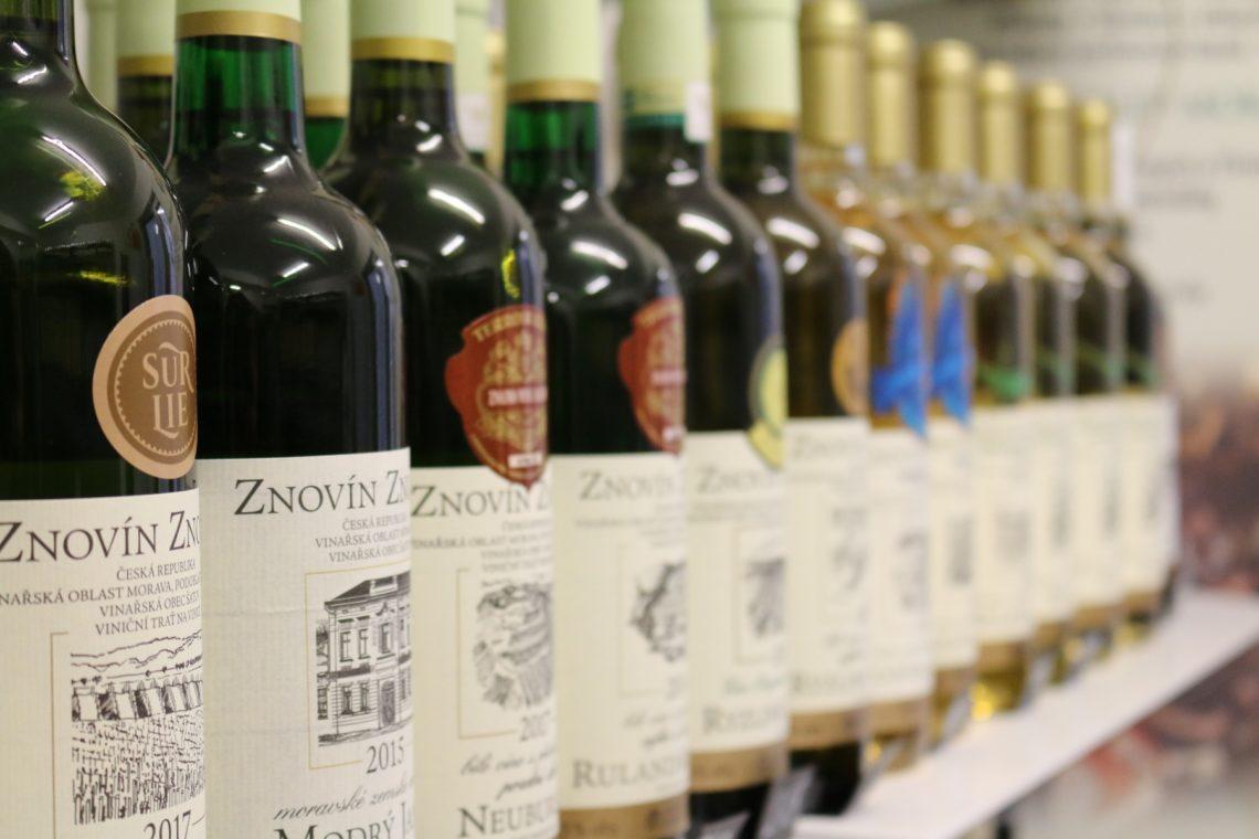 White wine options are plentiful at local wine shops