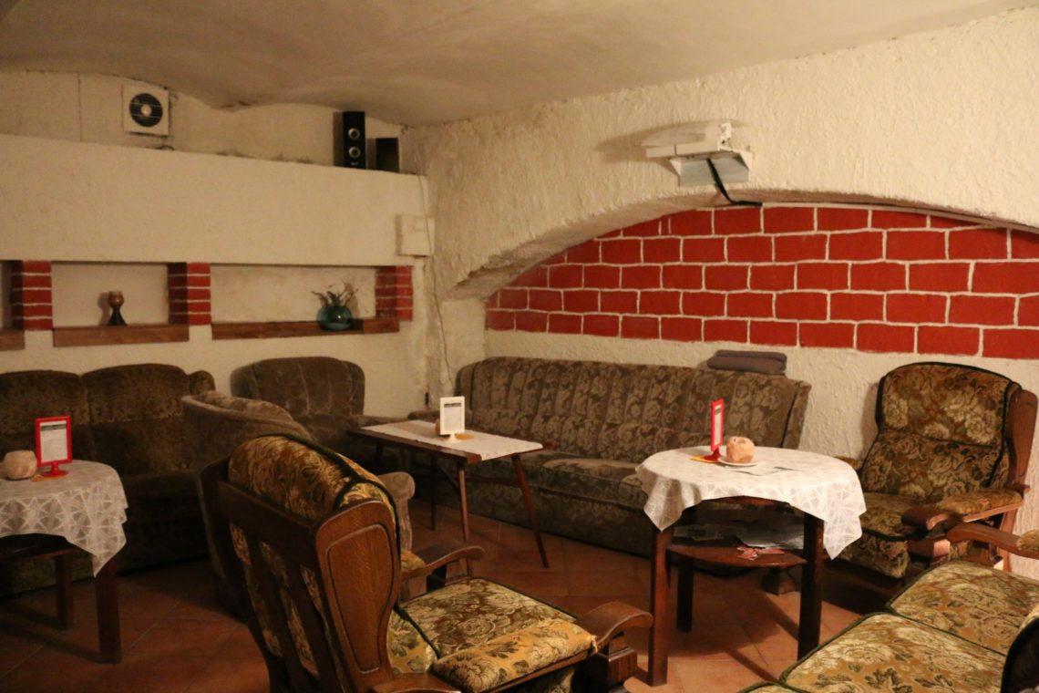 Interior of  Vinný Sklípek Vinárium