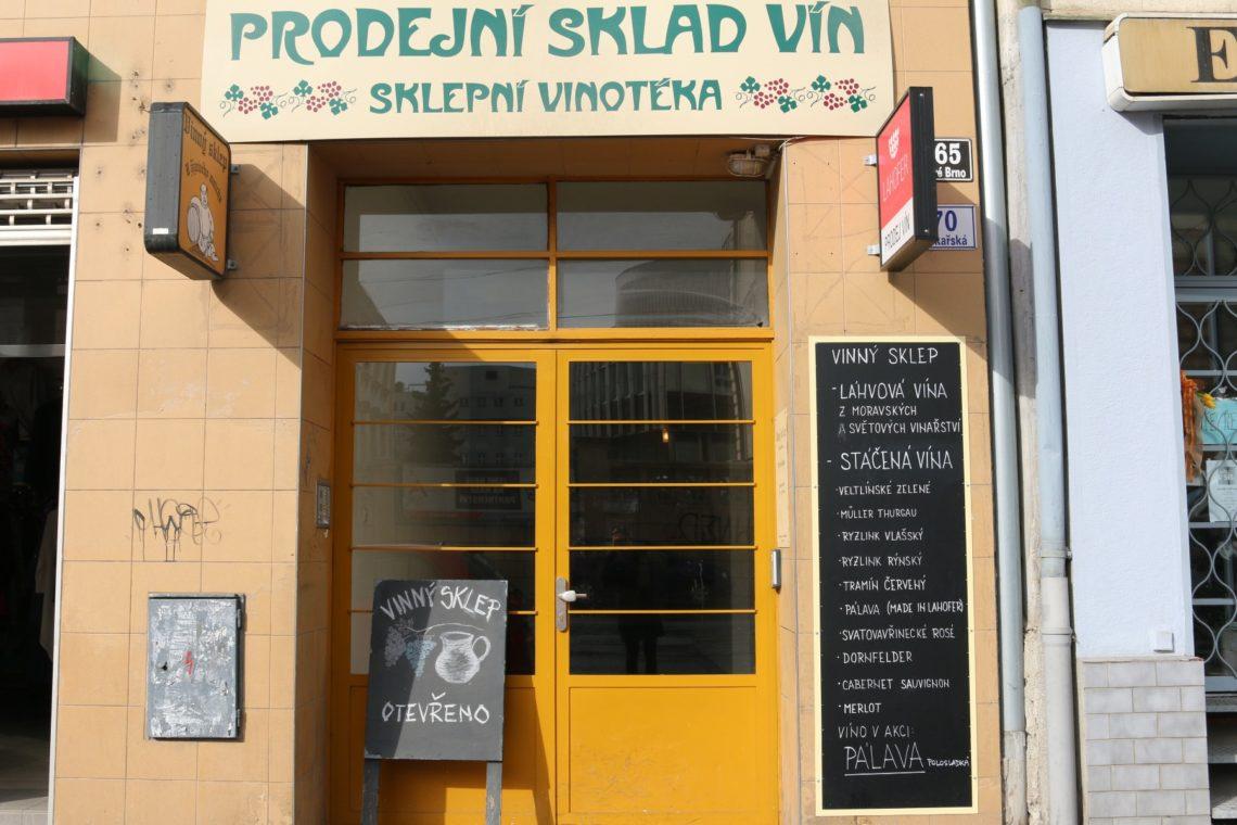Our neighborhood Vinný Sklep, U Žíznivého mnicha