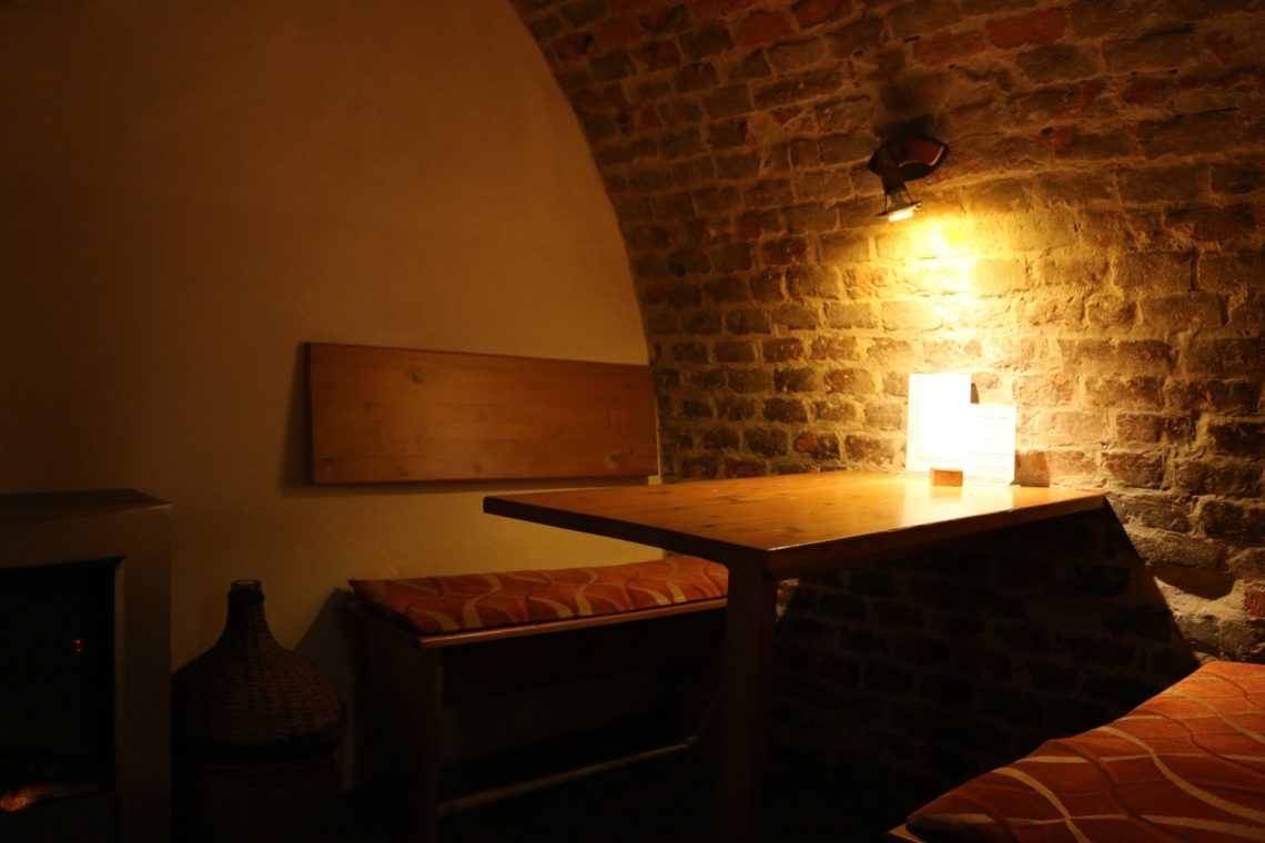 Booth at Vinný sklípek U Žíznivého mnicha