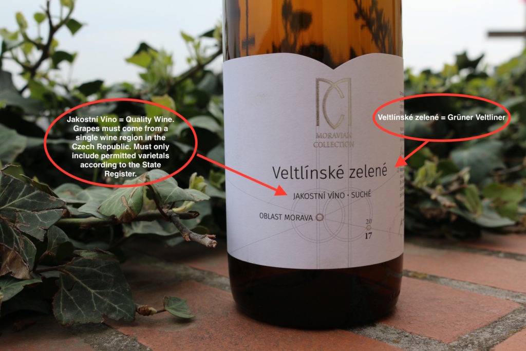 Moravian Collection  Veltlínské Zelené 2017 (Grüner Veltliner)