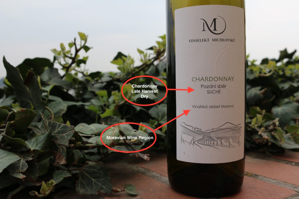 Vinselekt Michlovsky  Chardonnay 2017