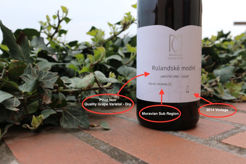 Moravian Collection  Rulandské Modré (Pinot Noir) 2014