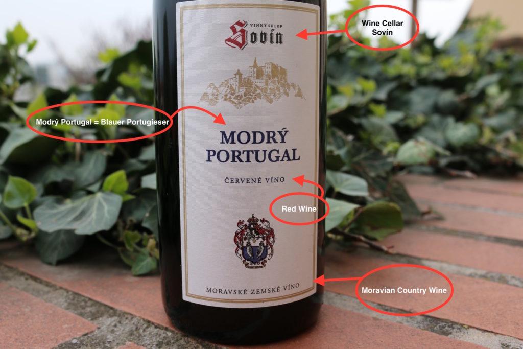 Vinařství NEOKLAS   Šardice  ' Sovín ' Modrý Portugal (Blauer Portugieser)
