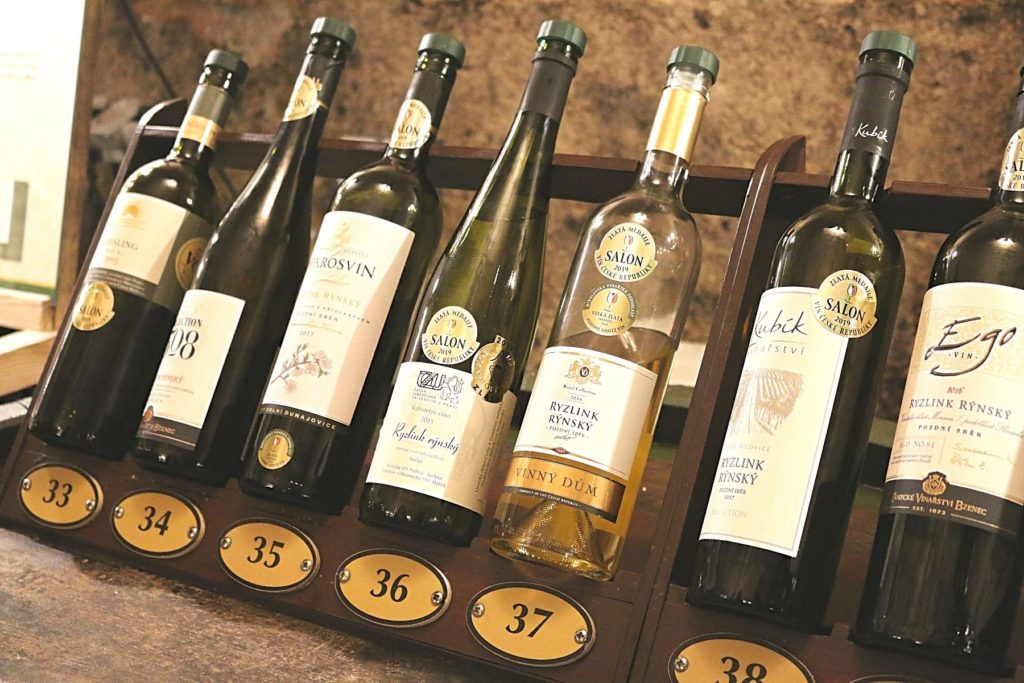 Various styles of Riesling are widely available in Moravia