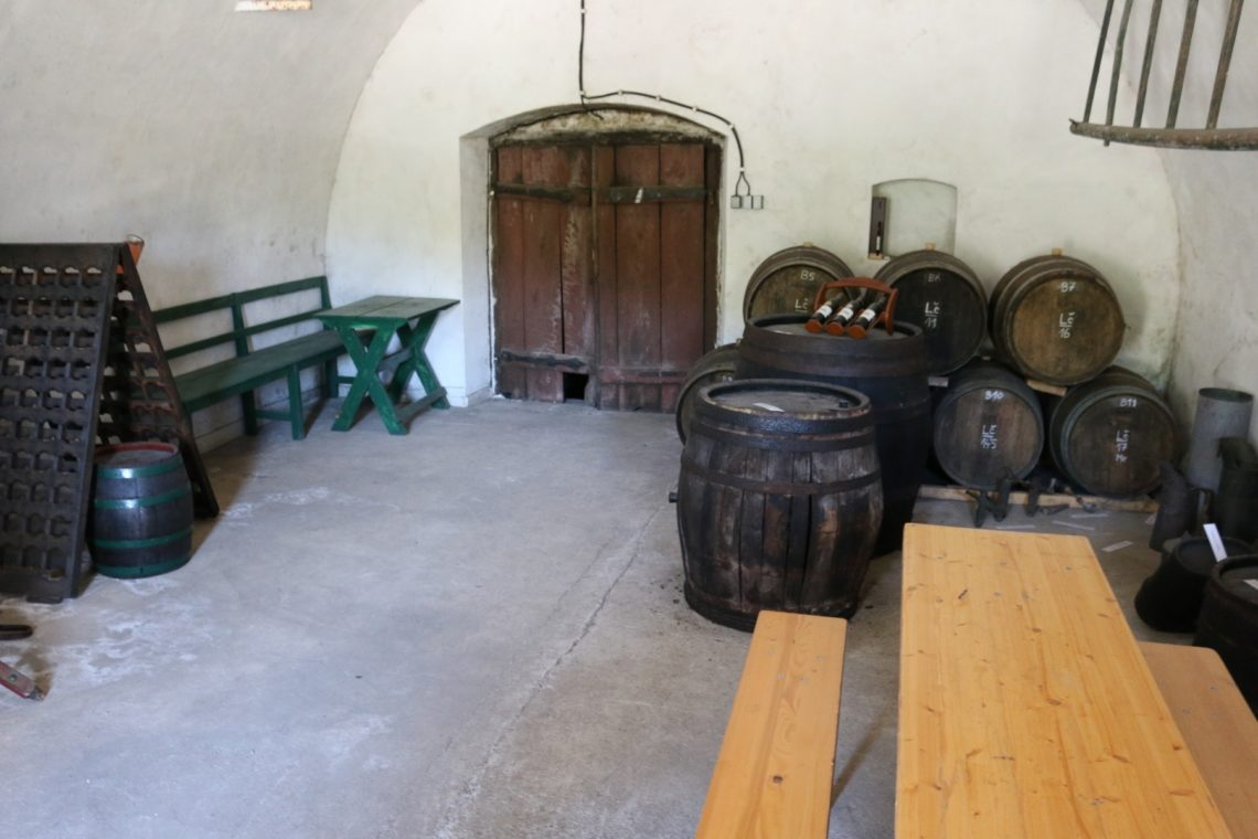 Original Wine Cellar at J. Stávek