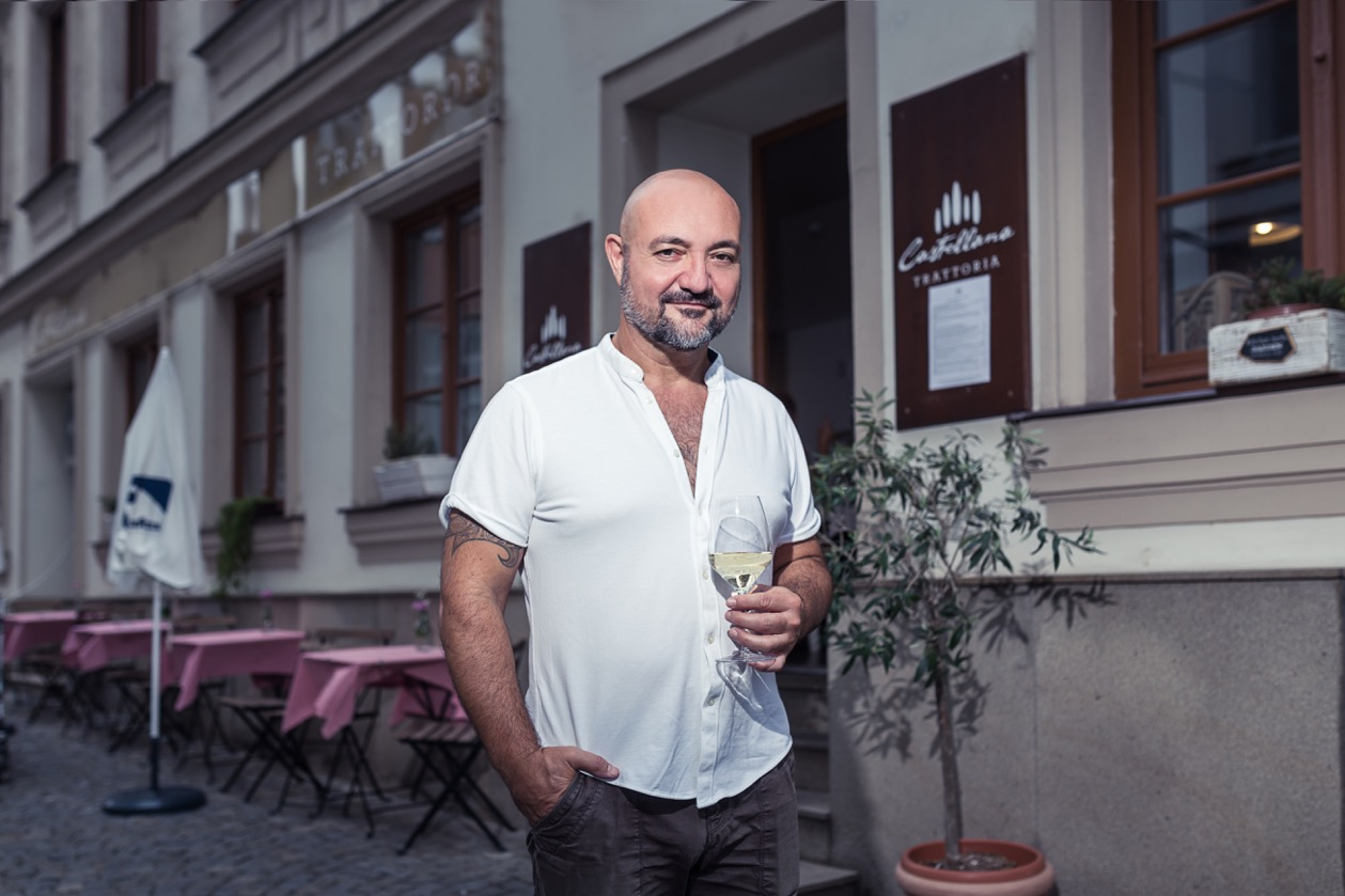 Sergio Bellini, Executive Chef and Owner of Castellana Trattoria