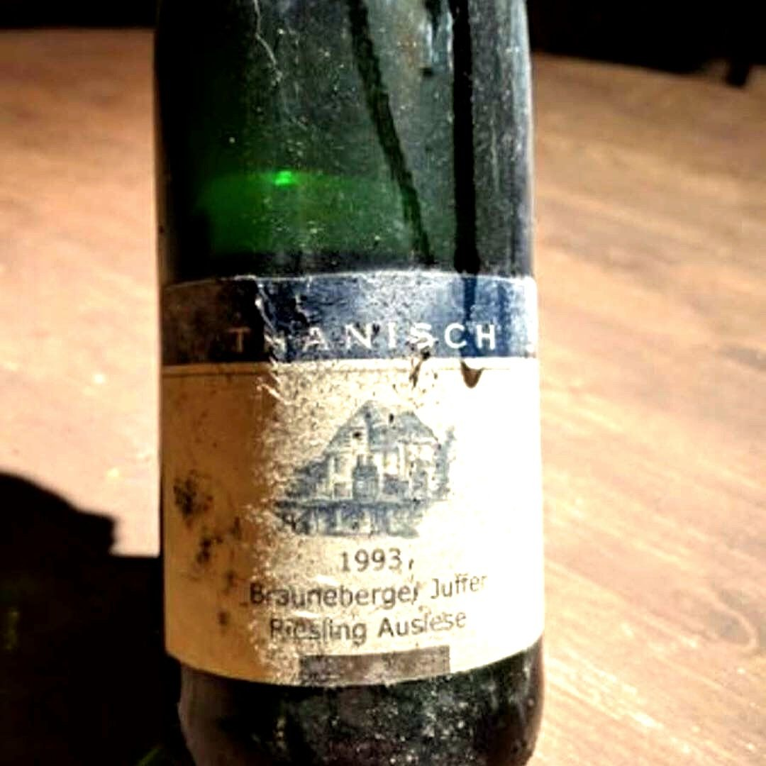A delicious example of aged Riesling:  Thanisch 'Brauneberger Juffer'  1993 German Auslese