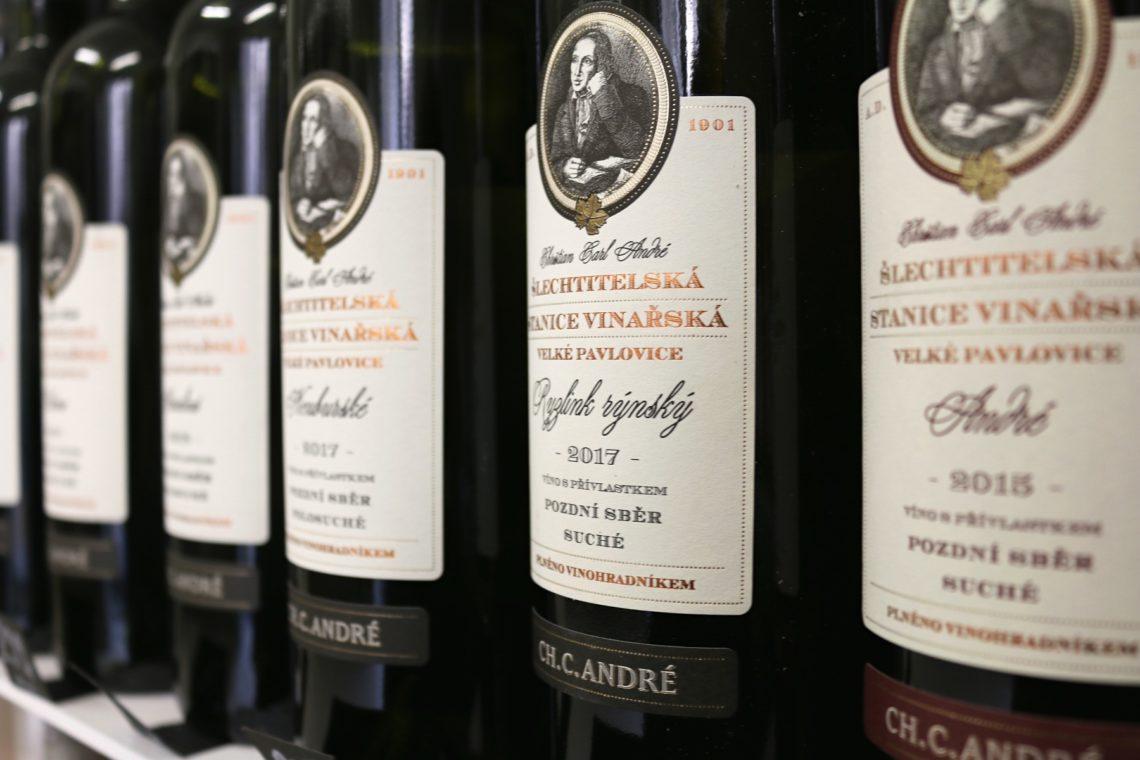 Ch. C. André wines from  Vinařství Roku