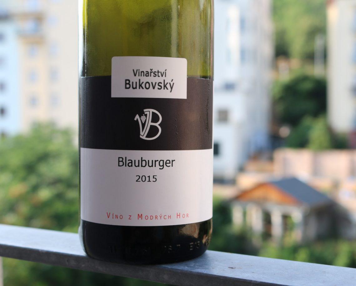 Blauburger from  Vinařství Bukovský
