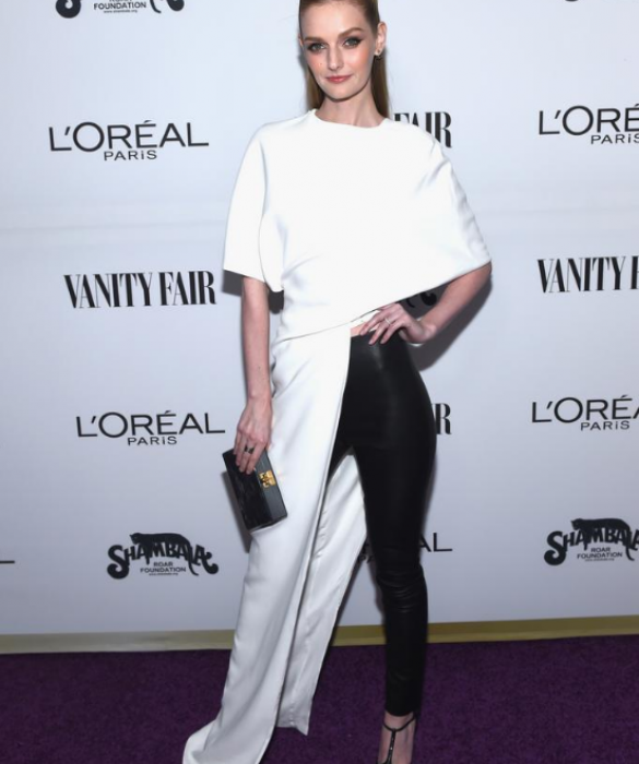 Toast to Young Hollywood February 2017    https://www.aol.com/article/entertainment/2017/02/22/vanity-fair-young-hollywood-red-carpet-arrivals/21719327/#slide=4453083#fullscreen