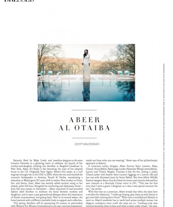 Harper's Bazaar Arabia Best Dressed February 2016    https://www.harpersbazaararabia.com/best-dressed/the-women/abeer-al-otaiba