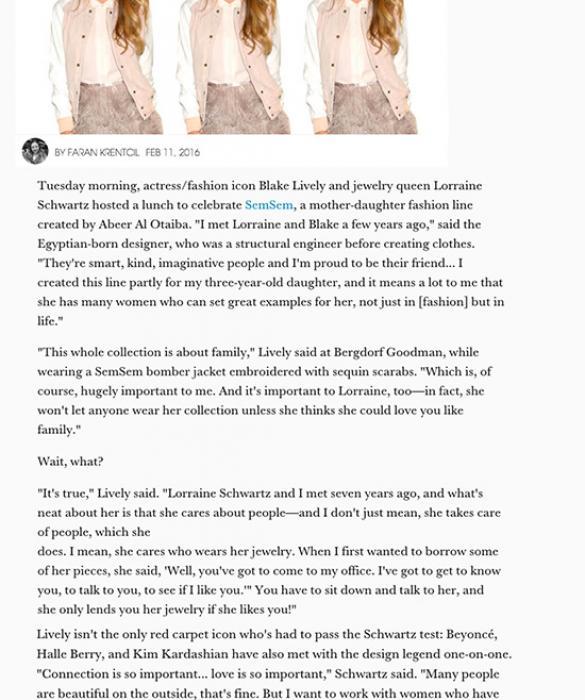 Elle February 2016    https://www.elle.com/fashion/celebrity-style/news/a33988/blake-lively-sem-sem/