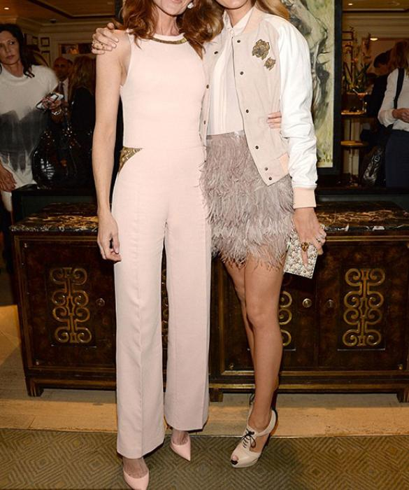 Daily Mail January 2016    http://www.dailymail.co.uk/tvshowbiz/article-3440180/Stylish-Blake-Lively-showcases-lithe-limbs-flirty-pink-number-attends-glamorous-fashion-luncheon-New-York.html