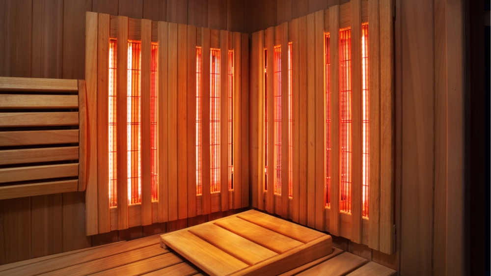 INFRARED SAUNA - Infrared saunas, unlike a traditional saunas, use electromagnetic radiation from lamps to warm the air around you. This heat penetrates deep into your joints, muscles and tissues. Warming your body directly with this method helps increase circulation and helps eliminate toxins from your body.Options Available:30 Minute Session - $3060 Minute Session - $60