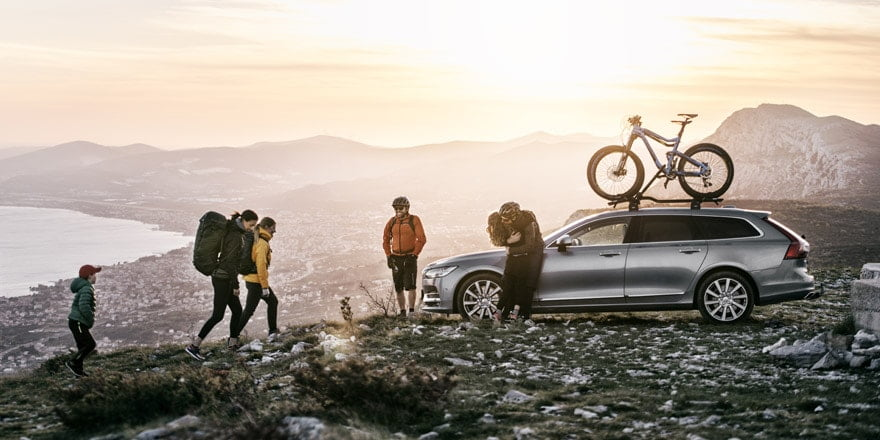 Roof Bike Racks - Save up your trailer hitch for towing and mount your bikes on your roof. From fork, frame, or wheel mounted bike racks, we'd be happy to help you find the best rack for your bike or car from Thule or Yakima.