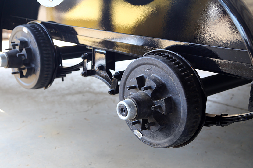 Trailer Brakes, Hubs, and Drums - Hitch Experts is proud to offer Dexter's extensive line of electric drum, or surge brakes; ranging from 2,000 lbs to 15,000 lbs per axle rating. We're here to help you get your trailer brakes running smoothly and comfortably with quick, professional service.